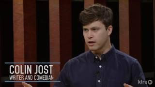 Colin Jost talks about his first SNL sketch to make it on air 2017 Video