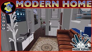House Flipper Speed Building Video | Modern Home
