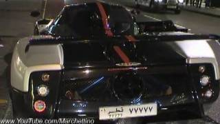 Pagani Zonda Cinque Pictures Videos