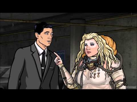 Archer Comic Con Message - SDCC 15