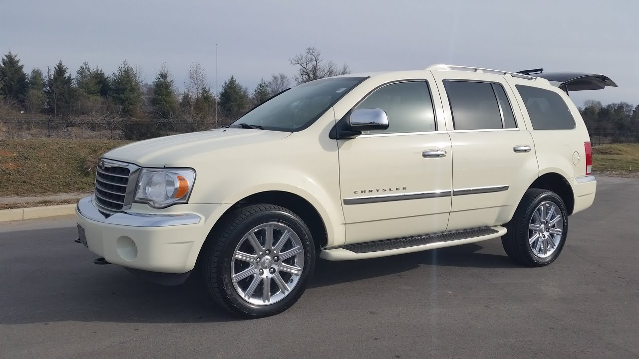 Sold 2008 Chrysler Aspen Limited 4x4 5 7l Hemi Cool Vanila 7 Penger For Call 855 507 8520