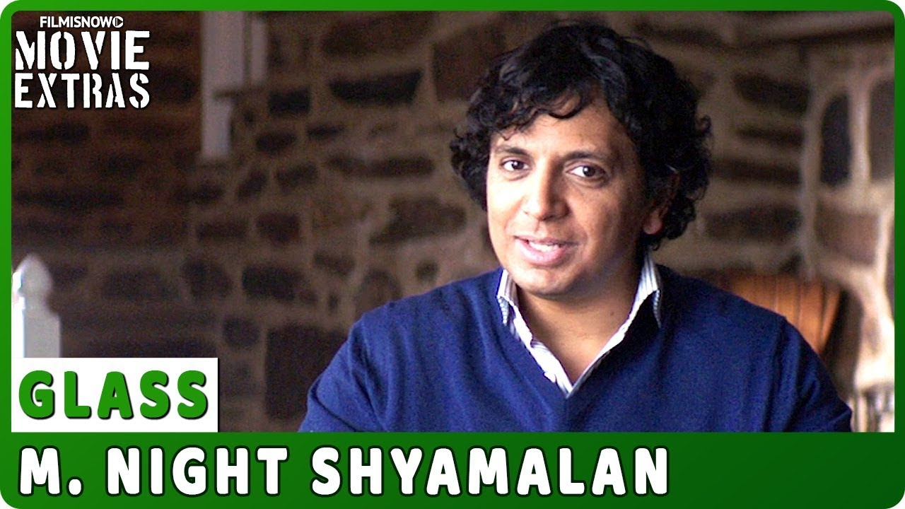 GLASS | On-set Interview with M. Night Shyamalan