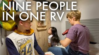 SPEND THE DAY W/ AN RV TRAVEL FAMILY  : Adventuring Family of 11