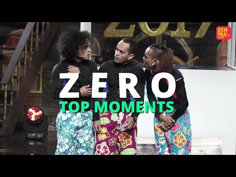 Maharaja Lawak Mega 2017 | Zero Top Moments