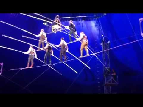 Seven high wire balancing