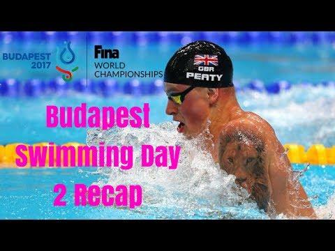 Budapest 2017 - Swimming Day 2 Recap
