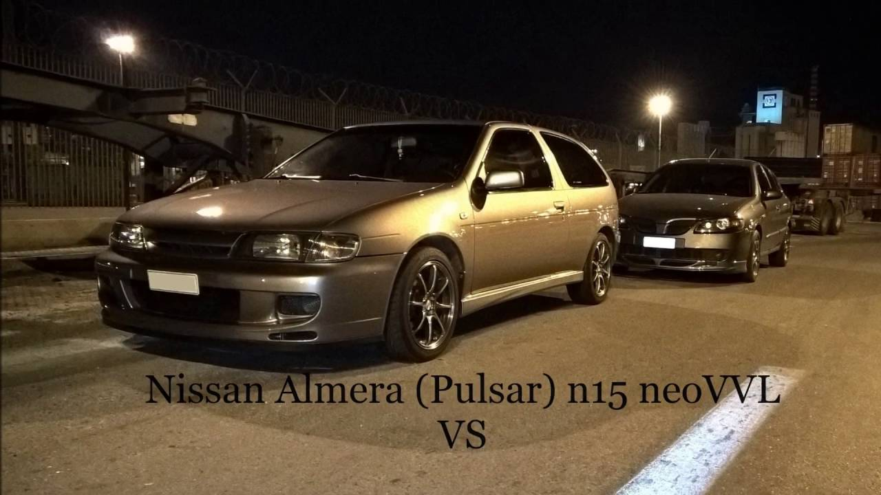 nissan pulsar almera n15 neovvl vs the fastest na almera. Black Bedroom Furniture Sets. Home Design Ideas