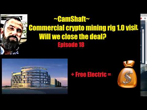 Commercial building cryto mining rig 1.0? Free Electric?