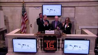 Best In Show Winner Of 136th Westminster Kennel Club Dog Show Rings The Nyse Opening Bell