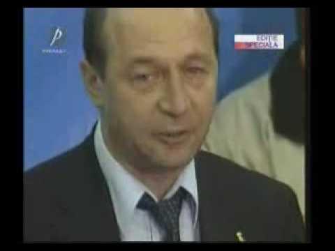 Traian Basescu plange pentru Stolojan