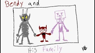 [COMIC DUB] Bendy and his Family (CUPHEAD CROSSOVER AU)