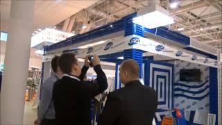 Выставка Мир климата 2013 - стенд AIRO - производство вентиляционных решеток(Производственная компания