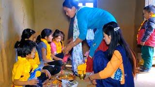 Celebrating TIHAR Festival in rural Nepal 2020