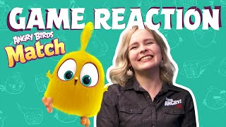 Angry Birds Game Reaction | Sara vs. Angry Birds Match