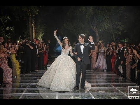 Behind-the-scenes of Lara Scandar's wedding captured by Parazar