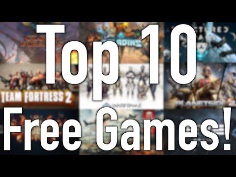 Top 10 Free Steam Games  (June 2017)