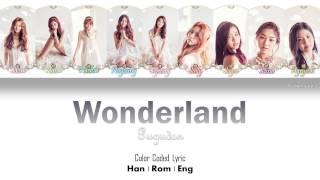 Gugudan (구구단) – Wonderland [Color Coded Lyrics] (ENG/ROM/HAN)