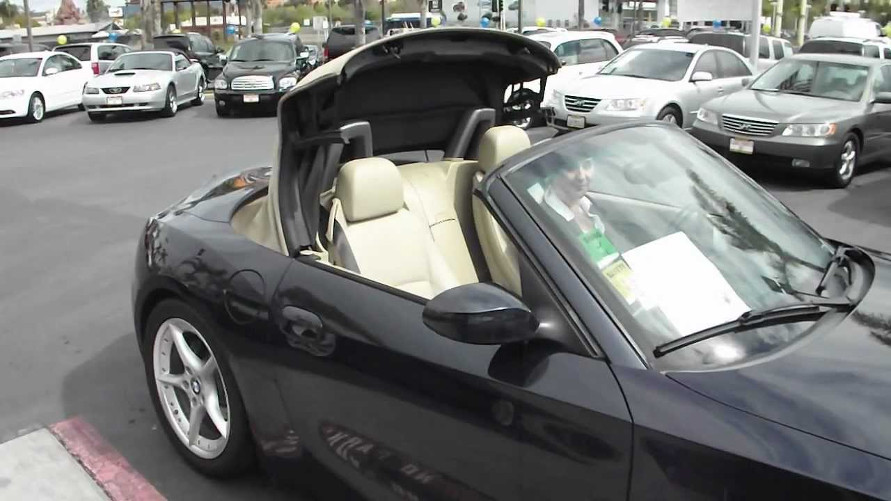 2007 Used Bmw Z4 3 0si Convertible For Sale In San Diego