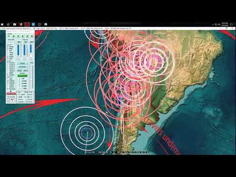 2/21/2018 -- Seismic activity transfers across regions -- West Coast USA and W. Pacific on watch