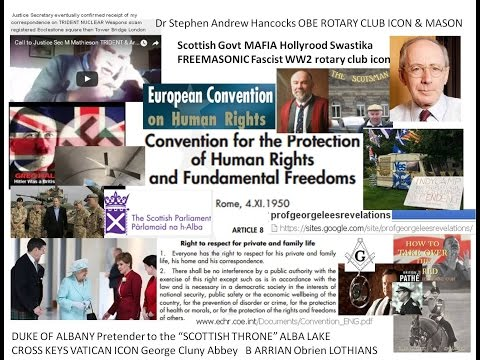 Scottish Govt MAFIA Hollyrood Swastika FREEMASONIC Fascist WW2 rotary club icon