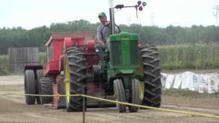 Tractor Pull John Deere 70 Diesel
