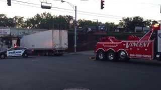 Truck got stuck, loud sound .. xD
