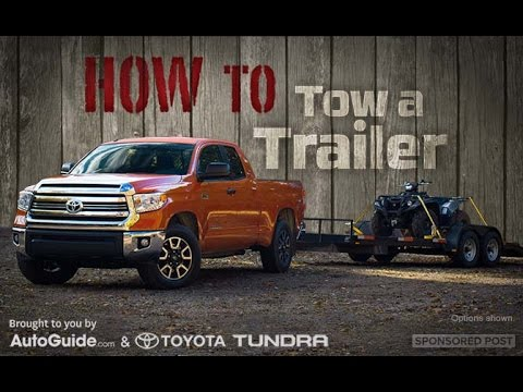 How to Tow a Trailer