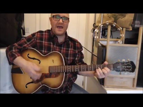 Maggie May - Skiffle - Vipers Skiffle Group cover - Jez Quayle