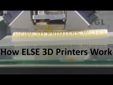 How 3D Printers Work - Extruders Sinters And Variations