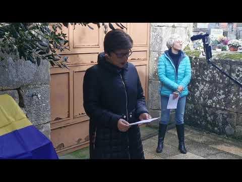 Homenaxe a María del Valle e Salud Torres