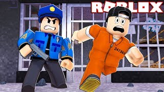 ESCAPING a MAXIMUM SECURITY PRISON in ROBLOX! (GTA STYLE GAMEPLAY)