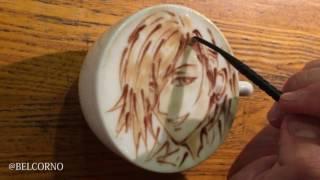 LatteArt【Ren Jinguji】  ラテアート【神宮寺レン】@うたの☆プリンスさまっ♪