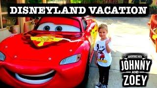 DISNEYLAND VACATION Surprise with Cars Ride, Lightning McQueen, Cars Land & Splash Mountain