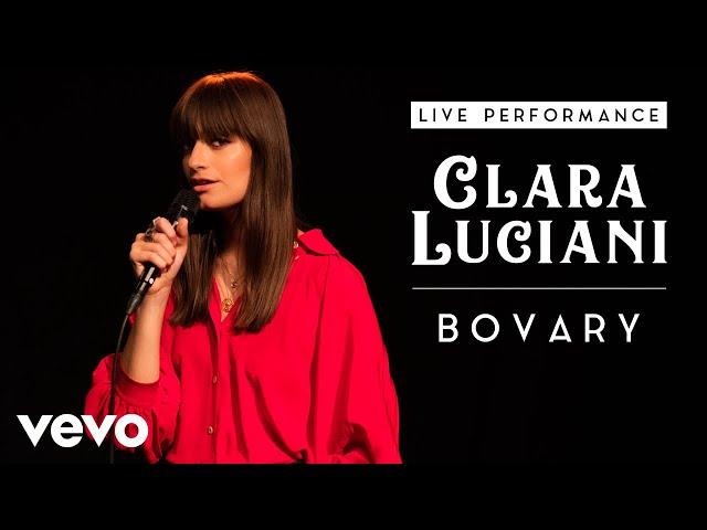 Clara Luciani - Bovary - Live Performance | Vevo