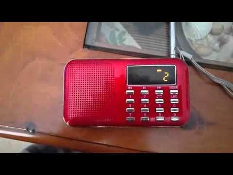 Mini Digital LCD MP3 Radio Speaker Player