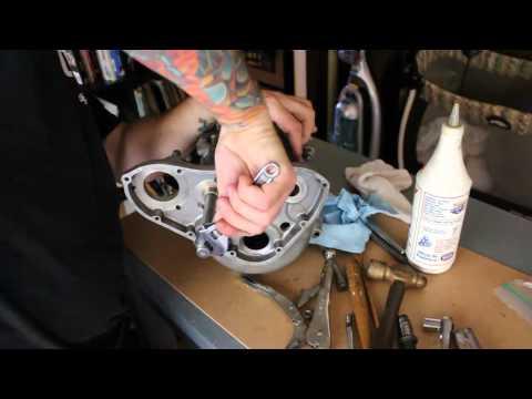 Triumph Pre-Unit / Unit Cam Bushing Line Reaming - YouTube
