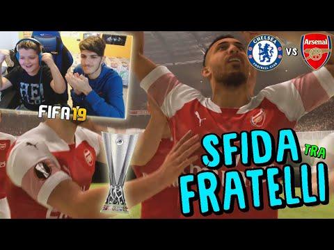 CHELSEA vs ARSENAL - FINALE EUROPA LEAGUE PAZZESCA! - Fifa 19