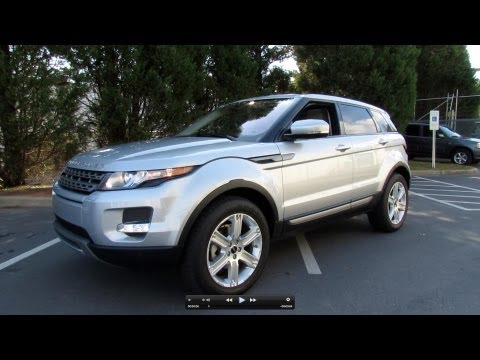2012 Range Rover Evoque Start Up, Exhaust, and In Depth Tour