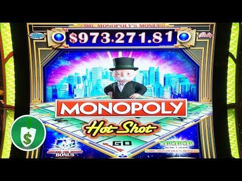 N  Monopoly Hot Shot slot machine, features & bonus