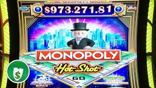 ⭐️ NEW -  Monopoly Hot Shot slot machine, features & bonus