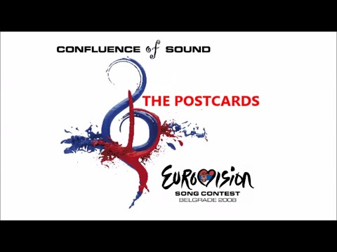 Eurovision 2008 : The Postcards