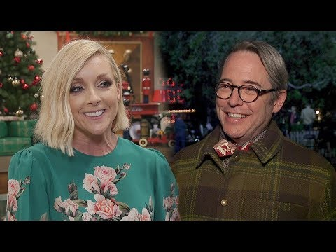where will matthew broderick hide cue cards a christmas story live cast tells all