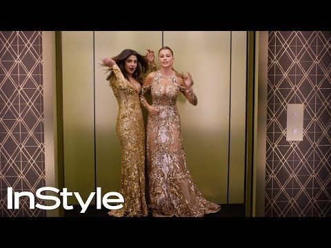 The Sexy InStyle Globes Party Elevator 'Grams You Need to Watch 2017 | InStyle