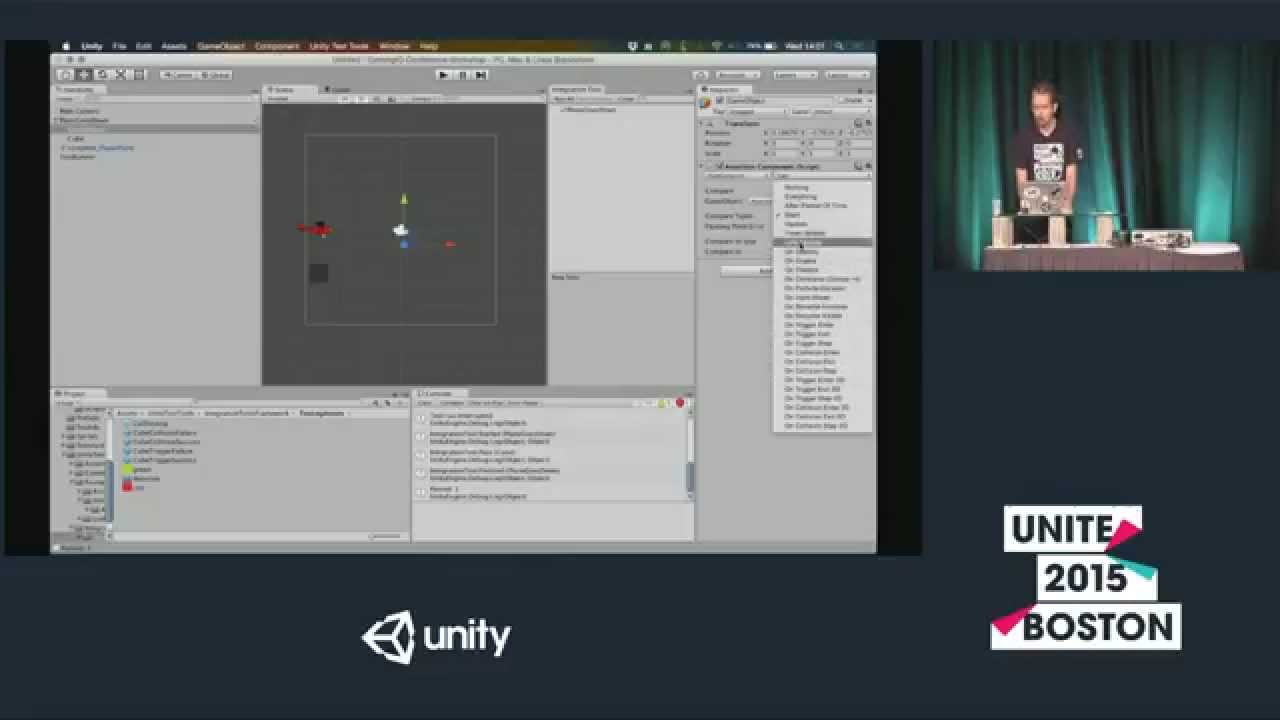 What's New in Automated Testing with Unity (Unity 5 3) — Random