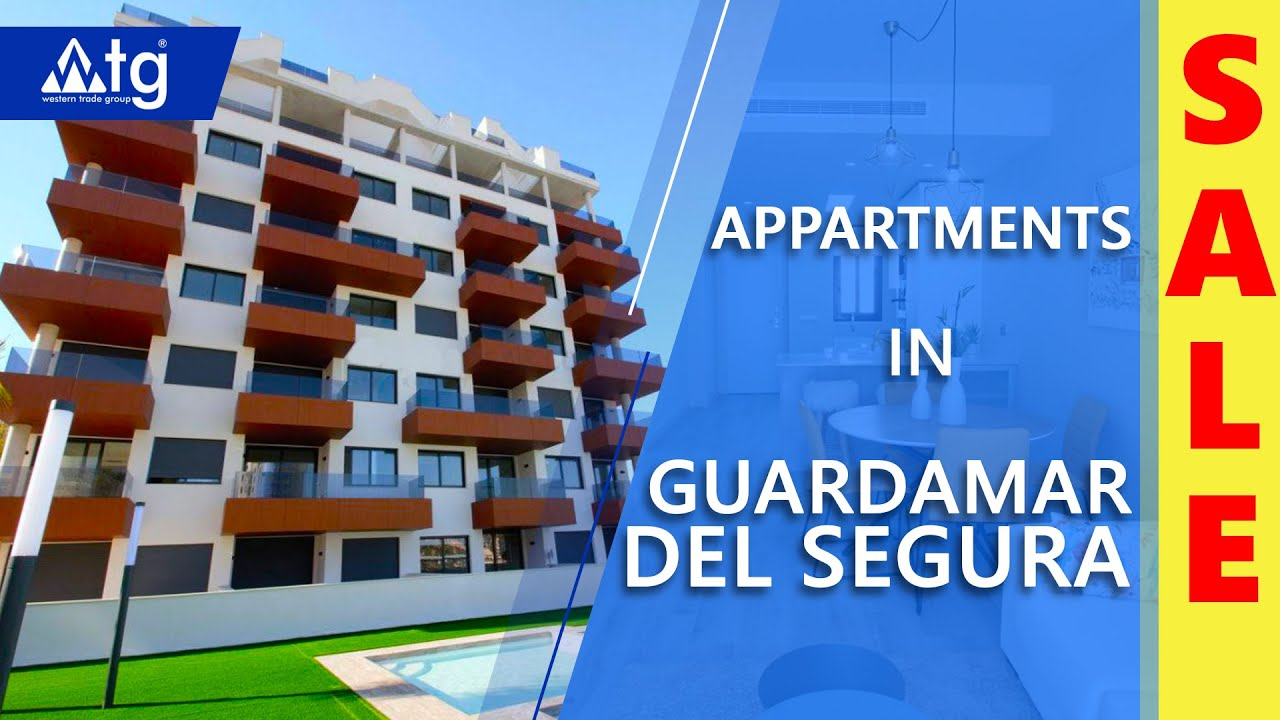 Apartments in Guardamar del Segura, to the beach 800 m ...