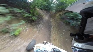 51- Yamaha Yfz450R Rough Trails, English Winter Road legal Quad Bike England
