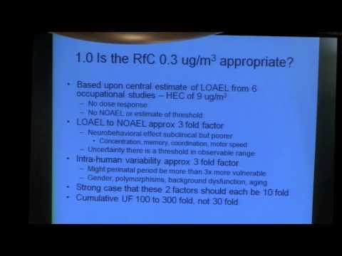 FDA hearing 12-14-15-10 dental amalgam Gary Ginsberg PhD part one