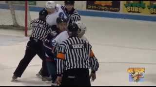 FHL Brawl 2015: Watertown Wolves vs Berkshire Battalion