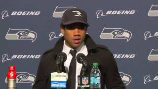 Seahawks Quarterback Russell Wilson vs Lions Postgame Press Conference