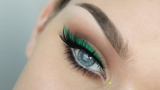 Green Liner + Orange Lips Thumbnail